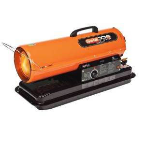 Dyna Glo Pro 75,000 BTU Portable Forced Air Kerosene Heater KFA75H at