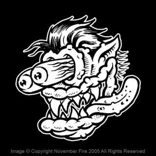 Speed Fink Shirt Rat Fink Big Daddy Ed Roth Monster Fun