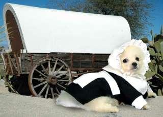 Thanksgiving Pilgrim Girl Dog Costume