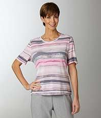 Allison Daley Striped Knit Top $14.40