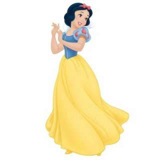 RoomMates Disney Princess Snow White Peel and Stick Giant Wall Decal