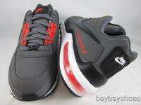 NIKE AIR MAX LTD DARK GRAY/BLACK/MAX ORANGE/WHITE RUNNING MENS ALL
