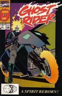 Ghost Rider #1 NM 1990   Texeira   A Spirit Reborn