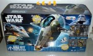 STAR WARS CLONE WARS Rise of BOBA FETT Slave I  Exclusive 5
