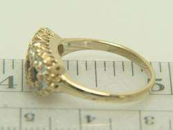 Vintage 14K Yellow Gold .48cts Ruby & .43ct Diamond Ring