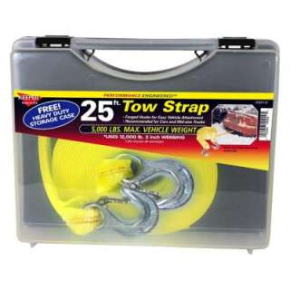 Keeper 25 x 2 x 11,000 lbs. Tow Strap with Case 02825 SC at The Home