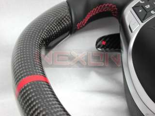 Mercedes CLS 63 C63 AMG Carbon Custom Steering Wheel+Airbag fits W204
