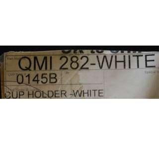 STANDARD QMI282 WHITE BOAT CUP HOLDER PAIR