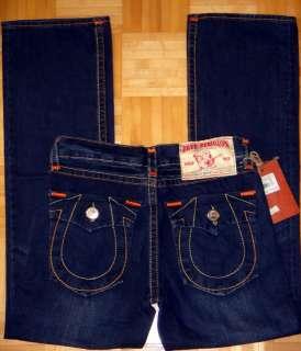 True Religion Billy Super T Dark Blue Mens Jeans NEW w/ tags Sz 34