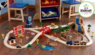 KidKraft Farm Train Set |