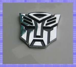 TRANSFORMERS AUTOBOT Emblem Badge optimus prime Camaro