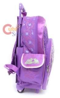Princess Tiana&Frog School Roller Backpack Rolling 16L