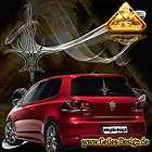Pinstriping Aufkleber Design für Auto Motorhaube Heck S