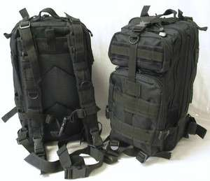 BackPack Day back pack Bag Laptop Molle Military Assault Patrol Colors