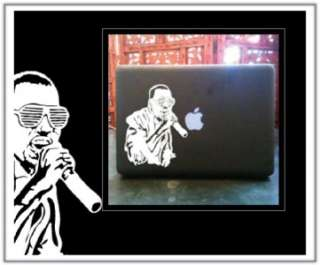Kanye West Laptop Car Truck Vinyl Decal Skin Sticker