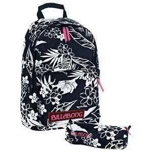 Billabong Womens Girls Backpack Rucksack School Bag   New