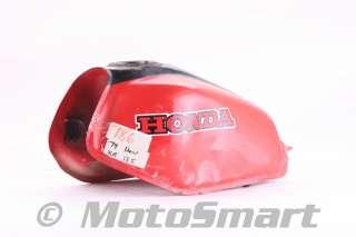 79 1979 Honda XR185 XR 185 Gas Fuel Petrol Tank   17520 446 000ZA