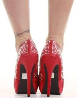 Ladies Party Platform Pumps High Heels Stiletto Prom Peeptoe Court