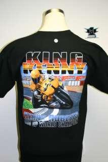 King Kenny Roberts Moto GP T shirt Black L XL 3X
