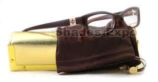 NEW TORY BURCH EYEGLASSES TY 2010 BROWN OPTICAL RX 513