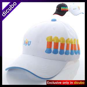 New Dicubo Hot Mens Fashion Ball Cap Baseball Cap Adjustable Hat White