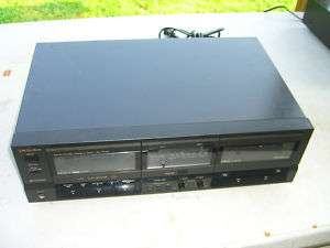 Technics Dual Cassette Deck RS T155
