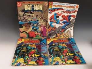 Lot (26) Vintage Oversized Limited Edition Comic Books Marvel Superman