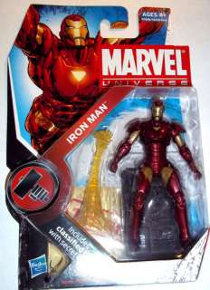 Marvel Universe 2010 IRON MAN #007 7 MOC