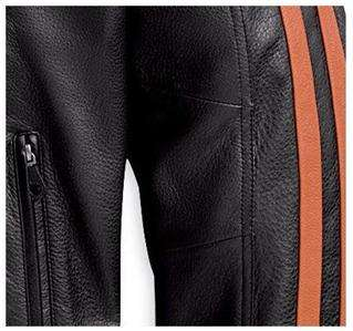 Harley Davidson Street Runner Style Black Leather Jacket
