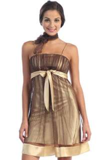 Jane USA Party Dresses 1080S Gold