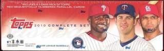 2010 TOPPS Complete Baseball 661 CARD FACTORY SEALED Hobby Box SET