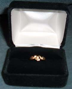 Black Hills Gold 10K Solid Gold Ladies Ring Size 4 1/2 With Small