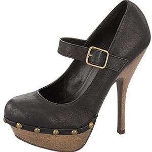 MaryJane High Heel Stud Platform Women Pump Shoes 7.5
