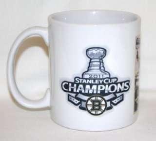 Boston BRUINS Hockey Coffee Mug #1 Stanley Cup Champs