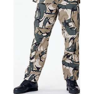 Safariflage Camouflage   Military BDU Pants (Polyester/Cotton Twill)