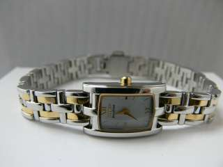 Citizen Eco Drive Two Tone Mother of Pearl Dial Women's Watch