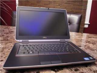 Dell Latitude E6420 Laptop i7 2760QM 2.4GHz 320GB FIPS 8GB 1600X900