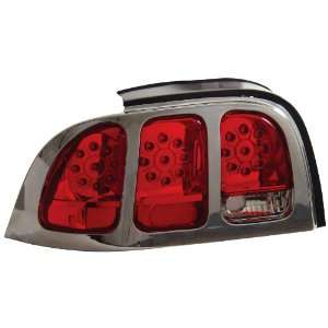 Anzo USA 321021 Ford Mustang Red/Clear LED Tail Light Assembly   (Sold