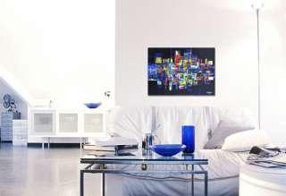 """SARA SWATI """"by night""""   Acryl Gemälde Kunst"""