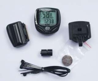 New Cycling Bike Bicycle Wireless LCD Computer Speedometer Waterproof