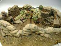 32 Diorama Sandbag Pit King Country Conte Britains