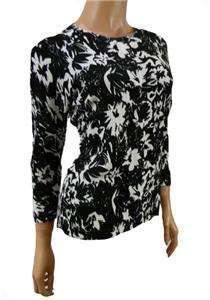 Floral Cardigan top, black white sixe 10  22