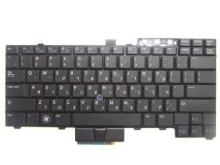 Hebrew Keyboard For Dell Latitude E6410 E6510 Laptop F18C1 0F18C1