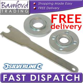 Bamford Trading   Angle Grinder Key Pin Wrench Spanner and Flange Nut
