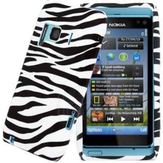 London Magic Store   Black Zebra Gel Case Cover Skin For Nokia N8