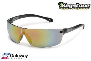 Gateway StarLite SQUARED Safety Glasses Red Mirror 441M