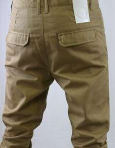 HUMOR DEAN MENS SANDIE BROWN CHINO TROUSERS £85   BNWT