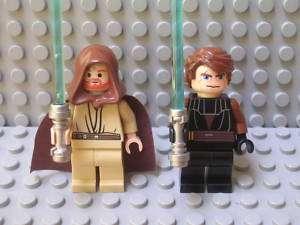 Star Wars Lego Jedi Anakin + Obi Wan Kenobi