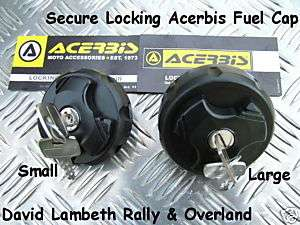 New Locking Cap for Acerbis Fuel Petrol Gas Water Tank