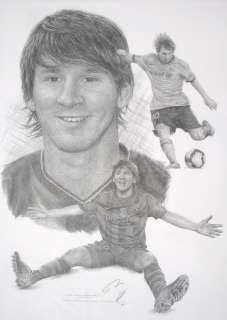 This Lionel Messi Pencil Drawing Print is part of the famous Jonathan